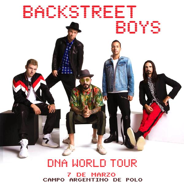 Backstreet Boys en el Campo Argentino de Polo