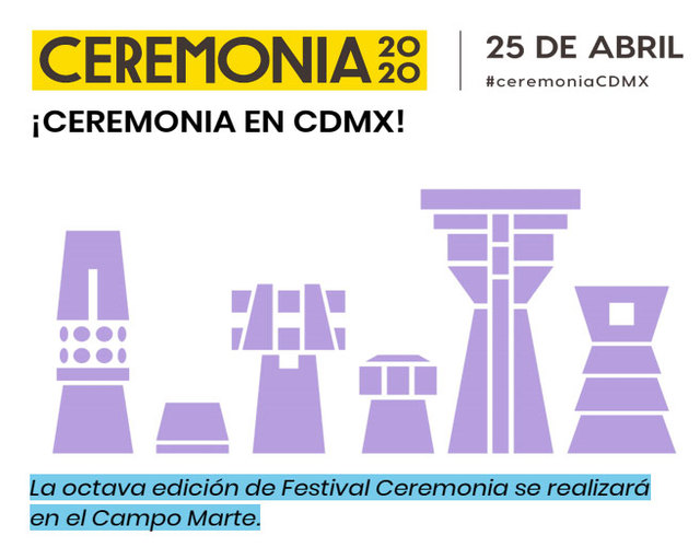 Festival Ceremonia en México