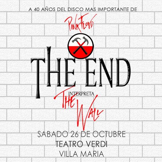 """The End interpreta """"The Wall"""" en Rosario"""