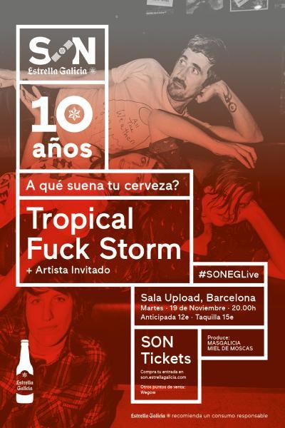 Tropical Fuck Storm en Barcelona