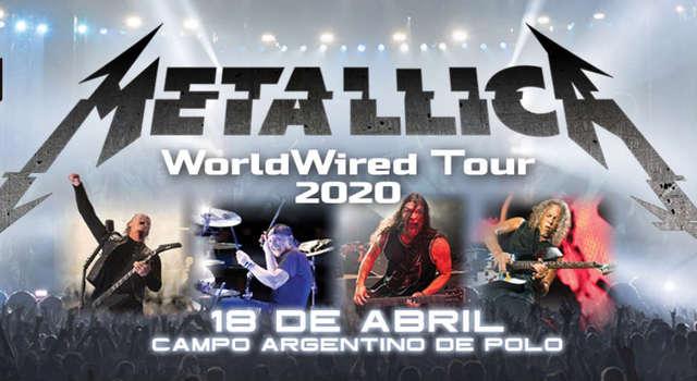 Metallica en el Campo Argentino de Polo