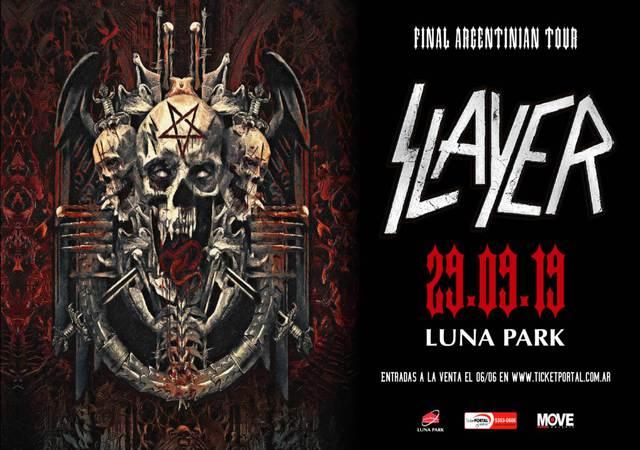 Slayer en el Luna Park