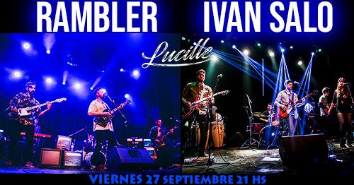 Rambler + Iván Salo en Lucille
