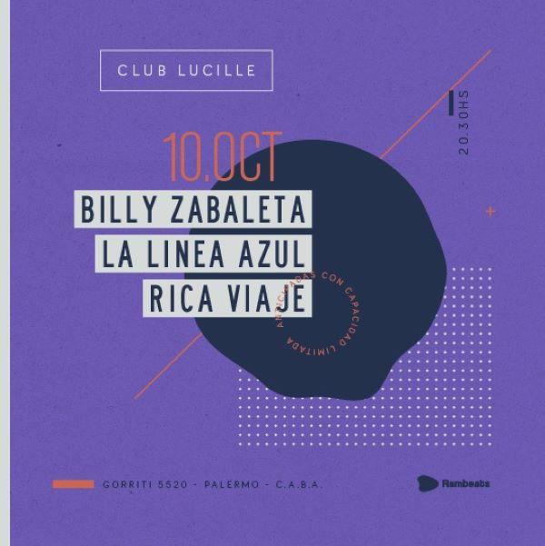Billy Zabaleta en Lucille