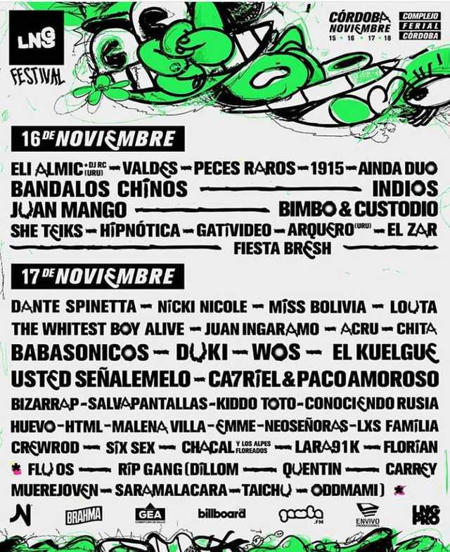 Festival La Nueva Generación en Córdoba