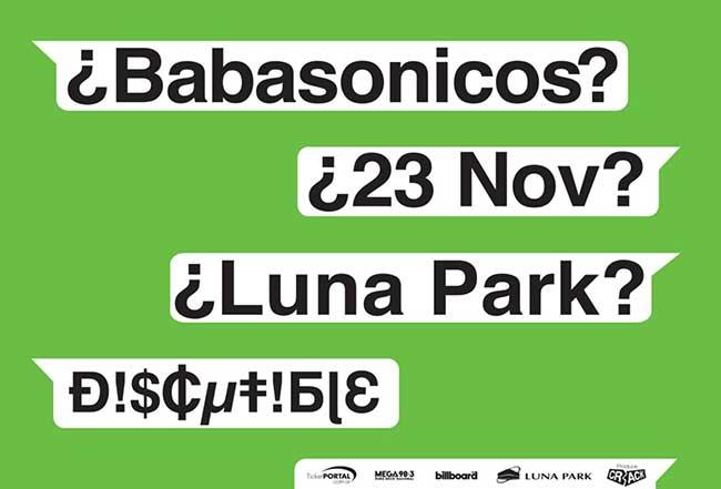 Babasónicos en el Luna Park