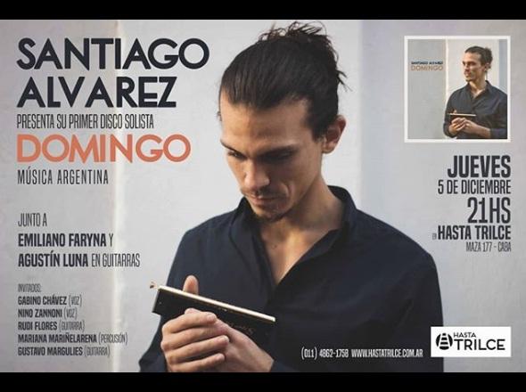 Santiago Alvarez en Hasta Trilce