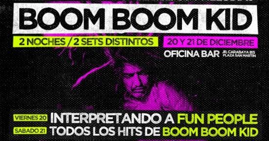 Boom Boom Kid en Perú