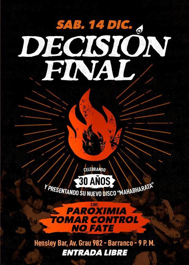 Decisión Final en Perú