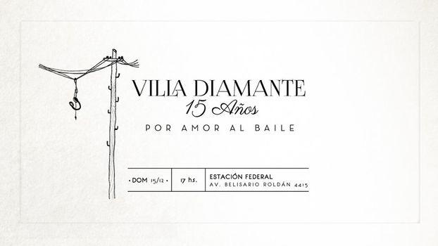 Villa Diamante en Estación Federal
