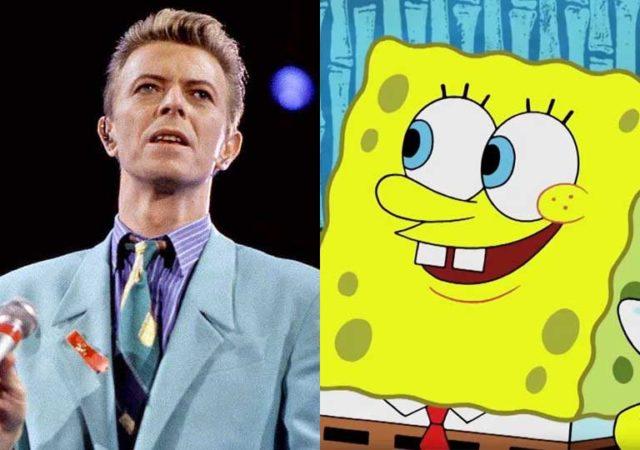 La historia detrás de la participación de David Bowie en Bob Esponja