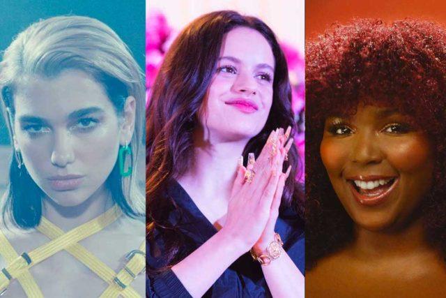 Los videos de la alocada fiesta de Dua Lipa, Rosalía y Lizzo luego de los Grammys