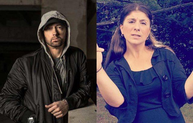 La intérprete de señas de los shows de Eminem causa furor en las redes