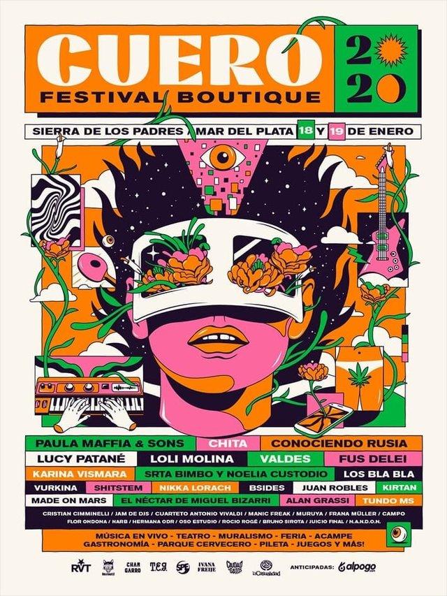 Festival Cuero en Mar del Plata