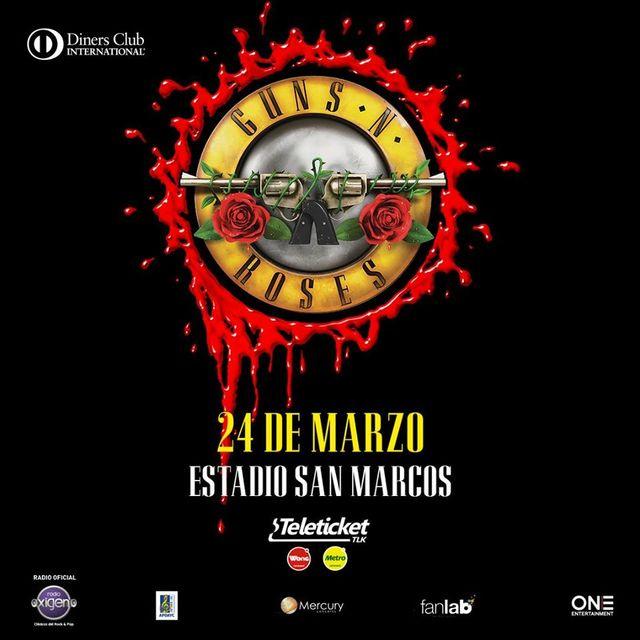 Guns N' Roses en Perú