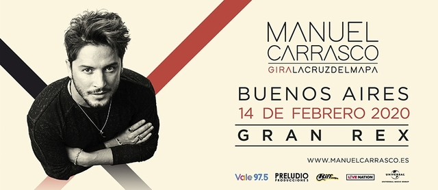 Manuel Carrasco en el Teatro Gran Rex