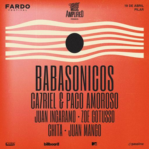 Fardo Festival 2020: Babasónicos, Ca7riel y Paco Amoroso, Zoe Gotusso y más