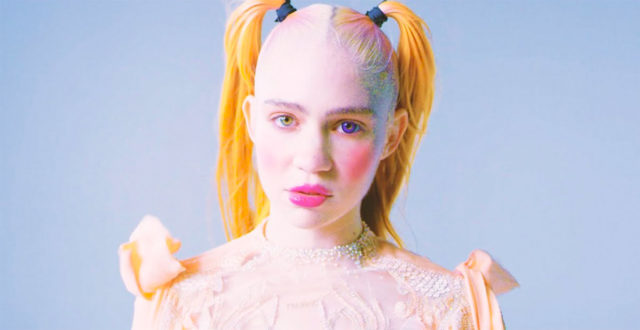"""Grimes estrena video con escenas de anime:""""Idoru"""""""