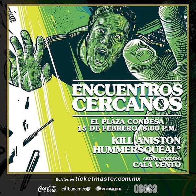 Kill Aniston + Hummersqueal en México