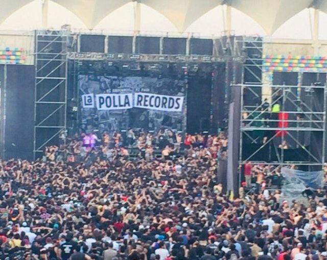 La Polla Records suspendió su show en Chile por invasión del público