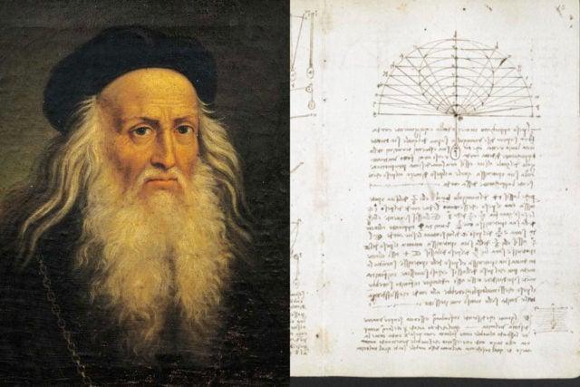 Los cuadernos de Leonardo da Vinci fueron digitalizados