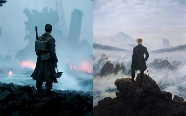 10 obras de arte que inspiraron las escenas de estas películas