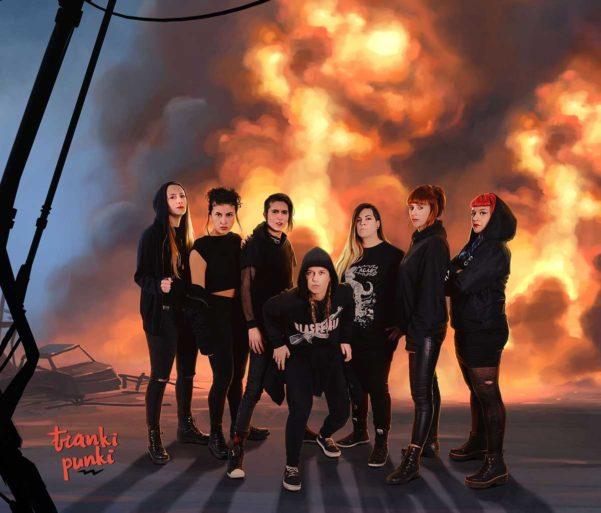 """Tranki Punki presenta su explosivo nuevo disco:""""Marea Negra"""""""