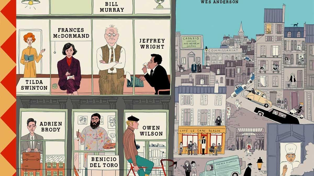 The French Dispatch, lo nuevo de Wes Anderson - Trailer