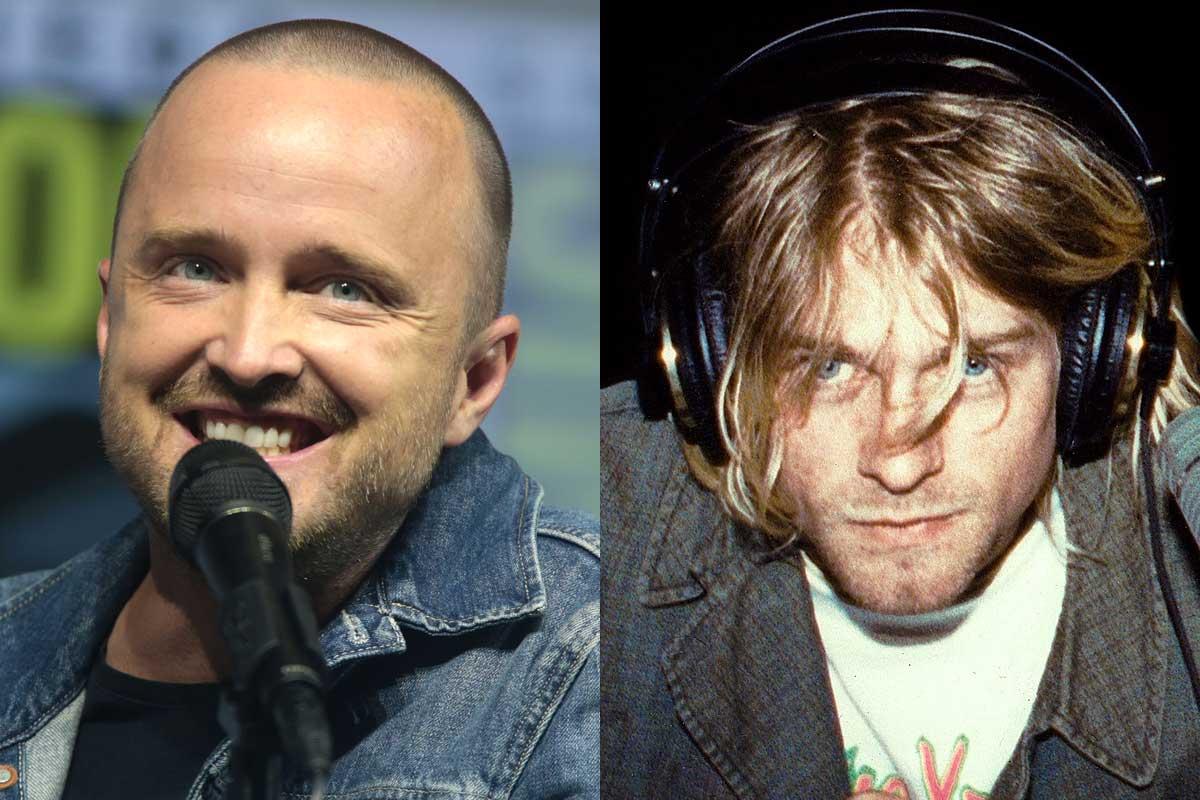 Aaron Paul Kurt Cobain