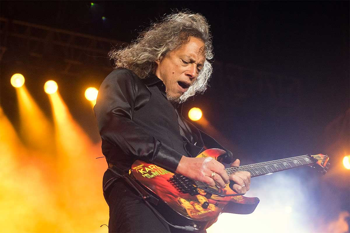 Kirk Hammett de Metallica
