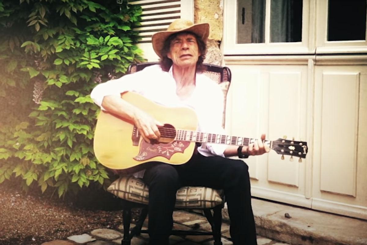 Mick Jagger en cuarentena