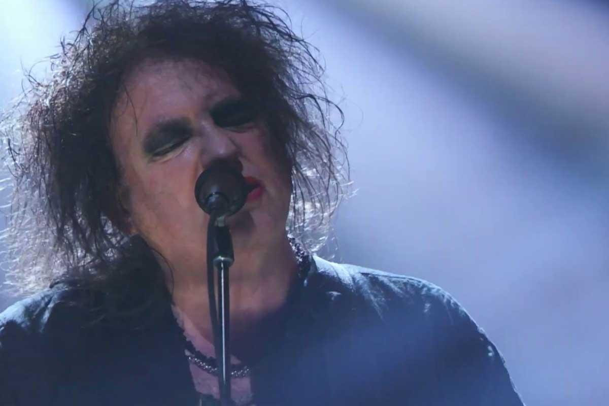 The Cure en el Salón de la Fama del Rock and Roll