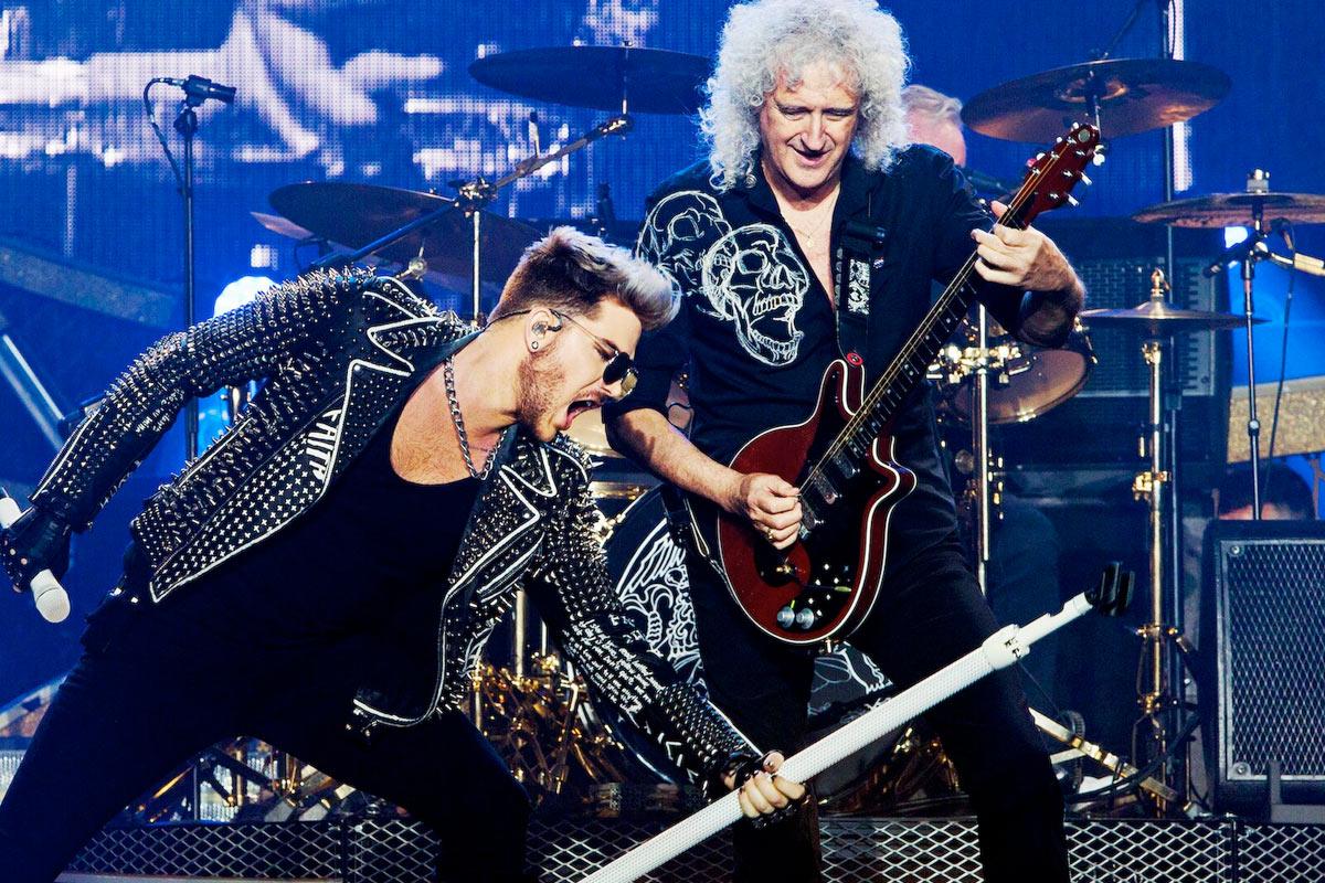 Adam Lambert y Brian May