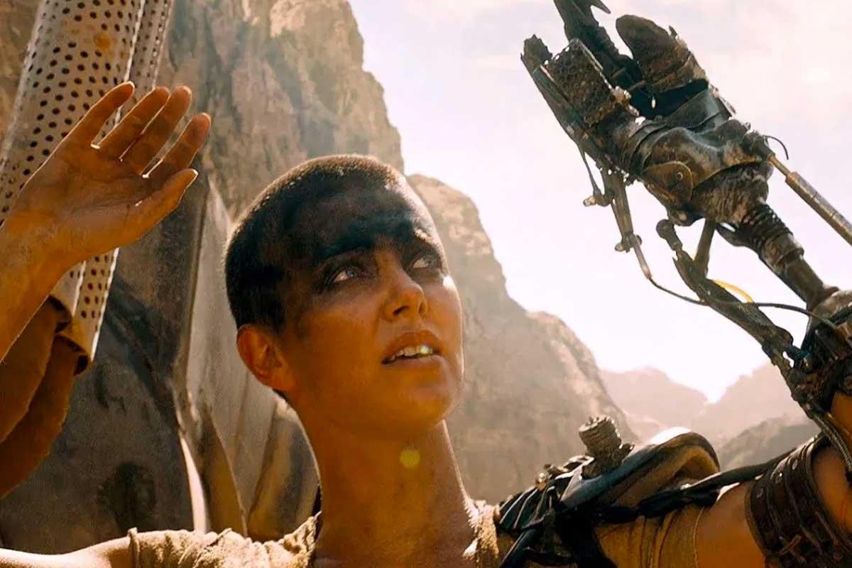 Furiosa en Mad Max Fury Road.