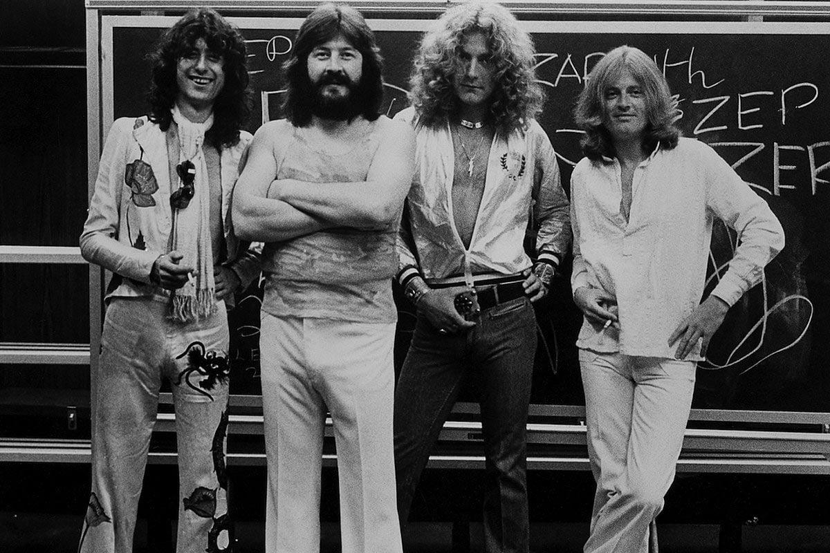 Led Zeppelin en 1977
