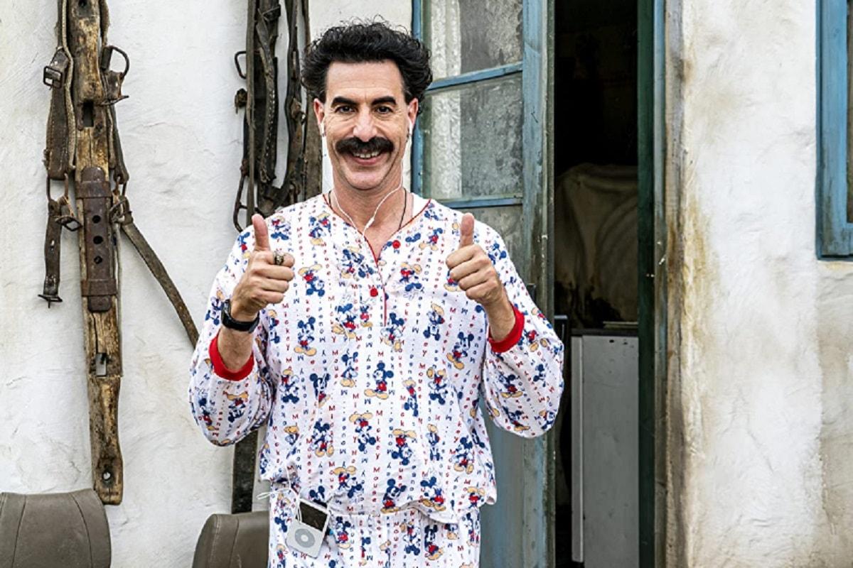 Borat 2: Sacha Baron Cohen afirma que fue el proyecto más peligroso en el que trabajó