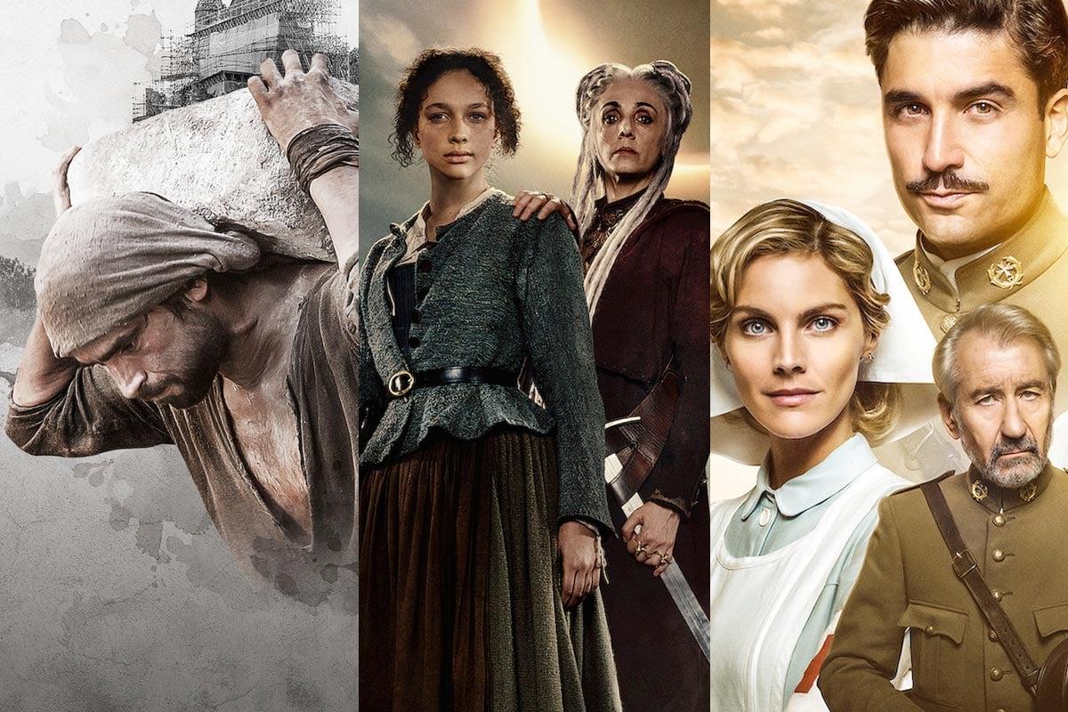 3 Series De época Recomendadas Para Ver En Netflix La Catedral Del Mar Luna Nera Y Tiempos De Guerra
