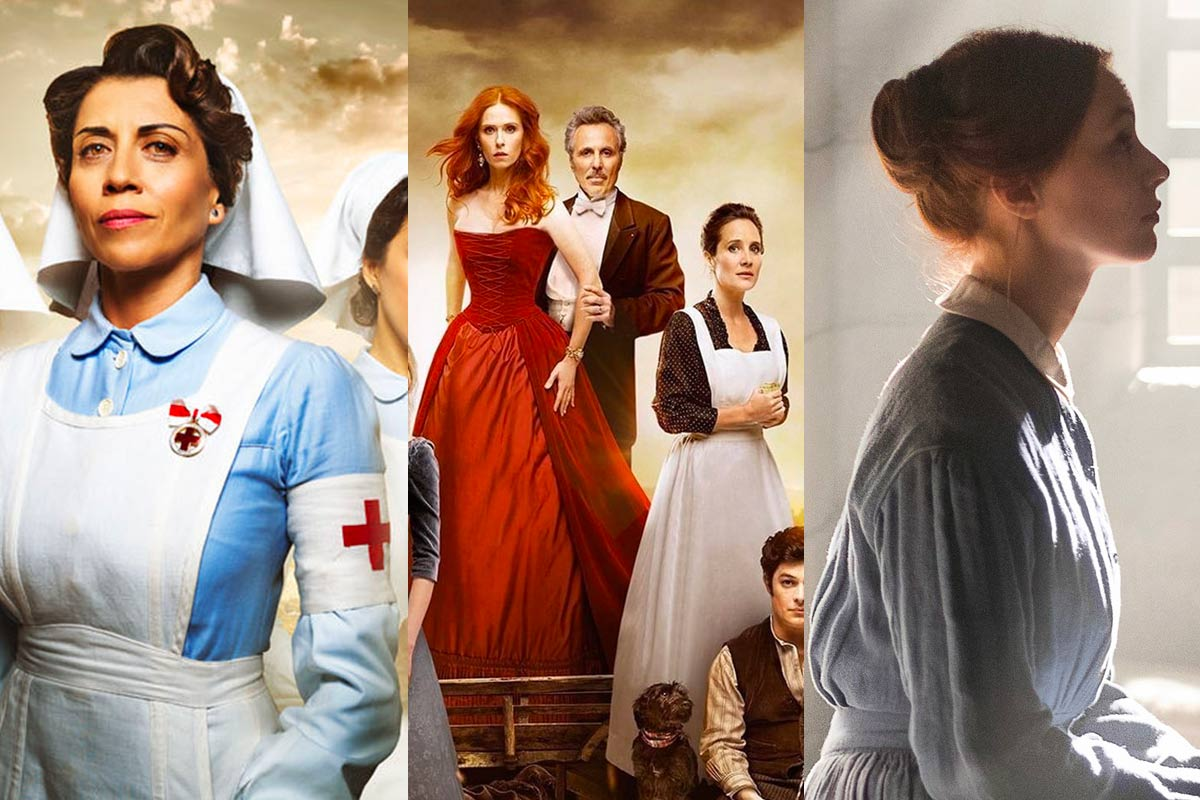 3 Series De época Recomendadas Para Ver En Netflix Alias Grace El Bazar De La Caridad Y Tiempos De Guerra
