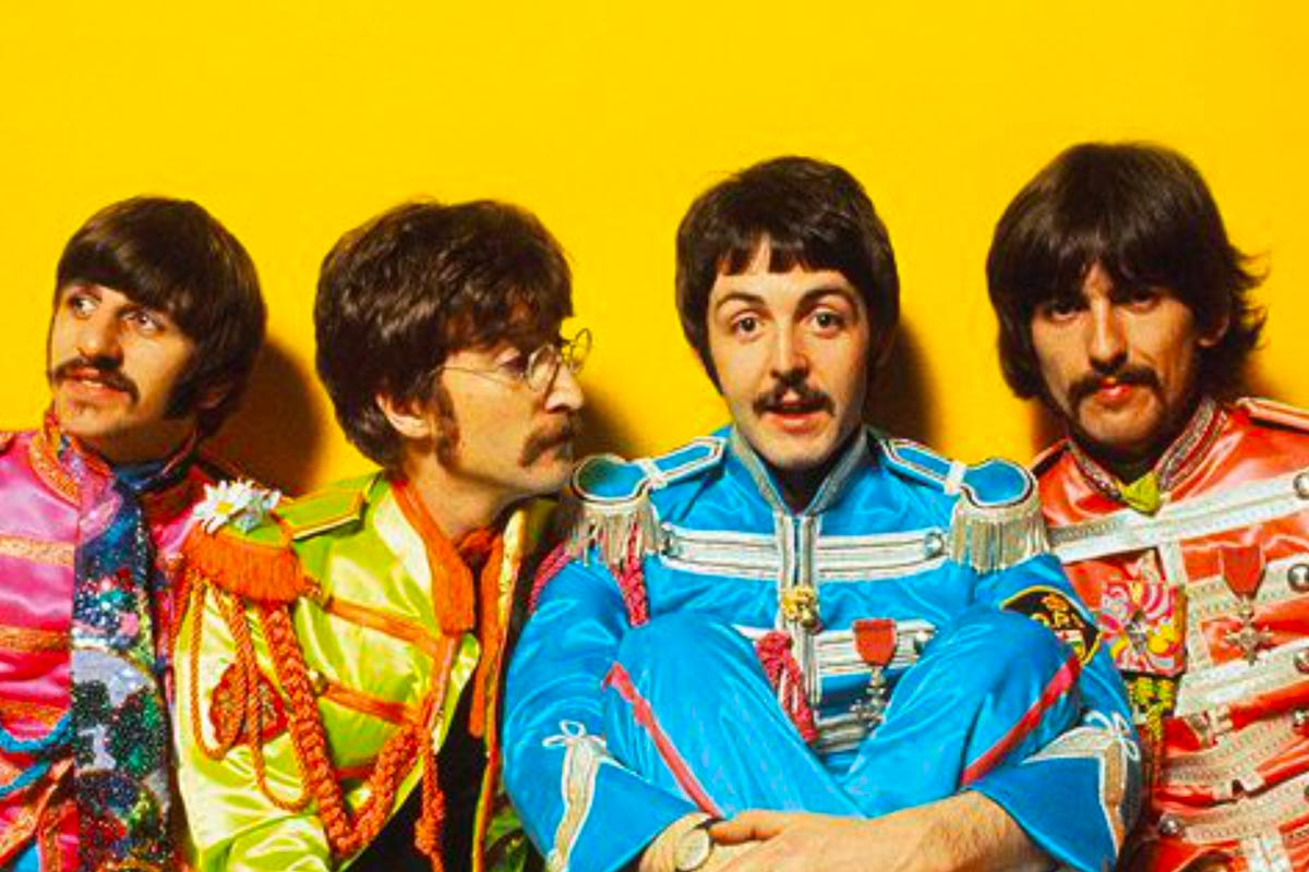 The Beatles looked their coolest at the end : beatles