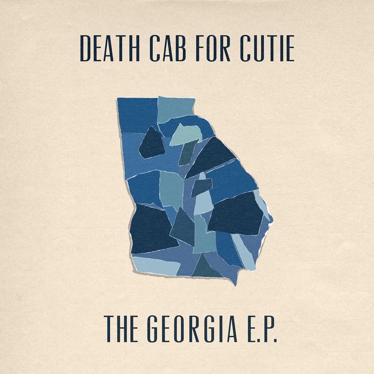 Portada de The Georgia E.P., EP de Death Cab For Cutie