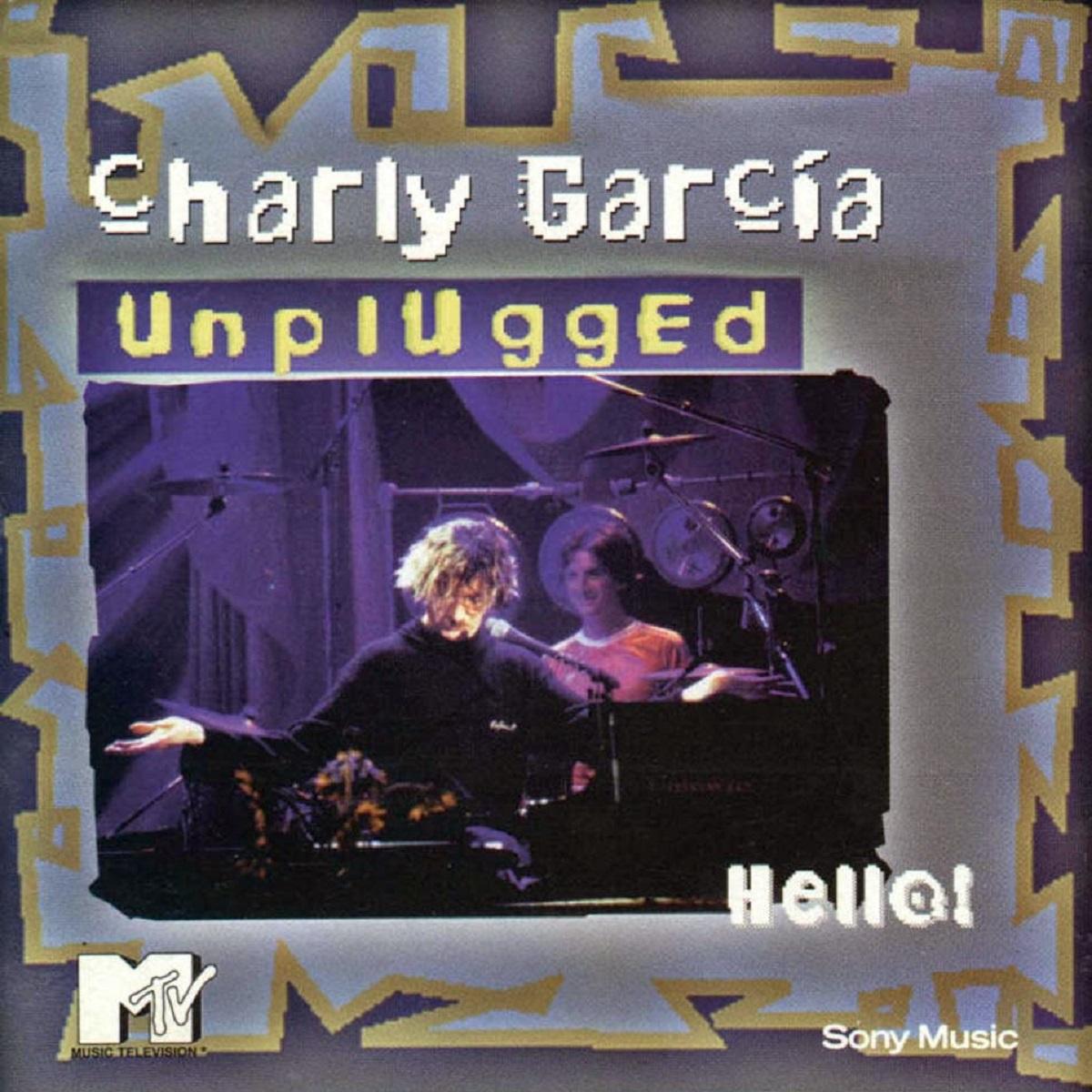 Portada de Unplugged, disco de Charly García