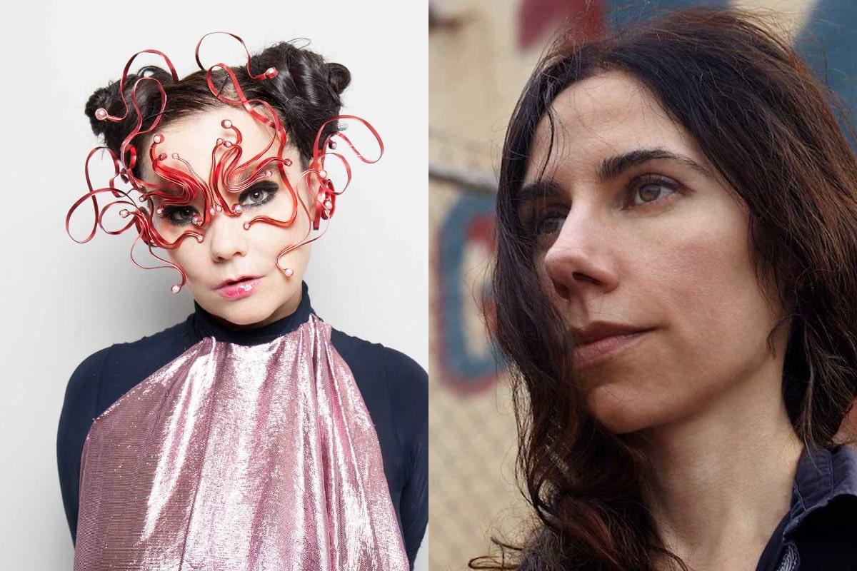 Björk, PJ Harvey