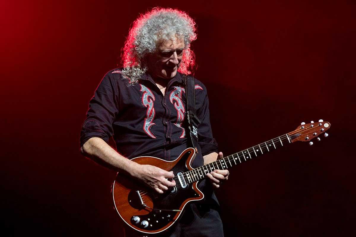 Brian May de Queen en 2017