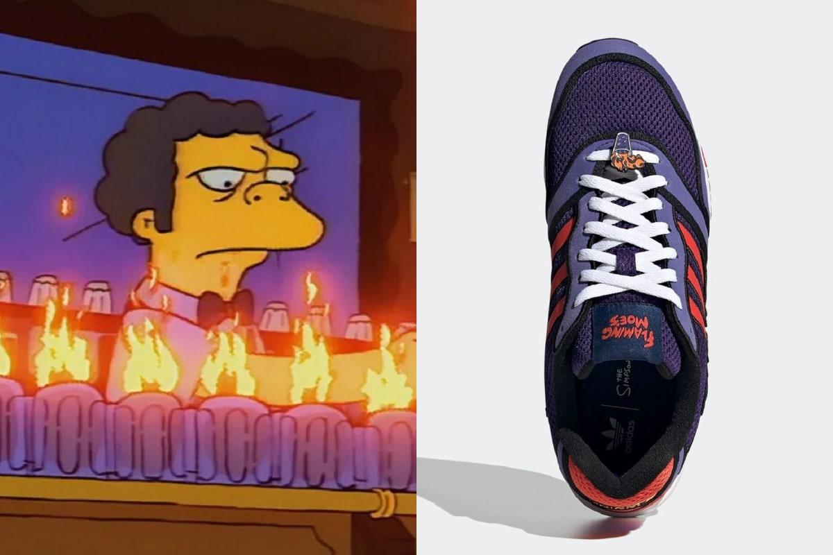 Adidas presenta su modelo inspirado en Moe de Los Simpson