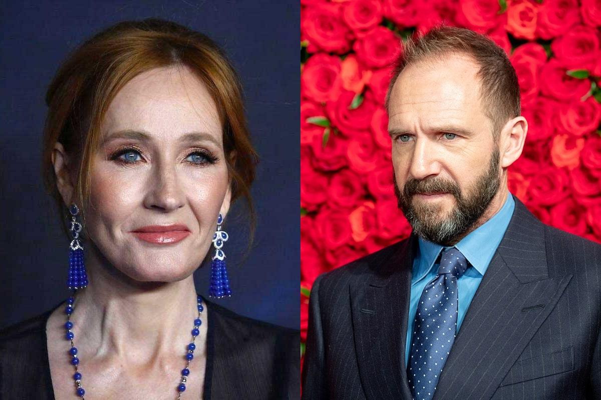 Ralph Fiennes defiende a J.K. Rowling de los ataques: