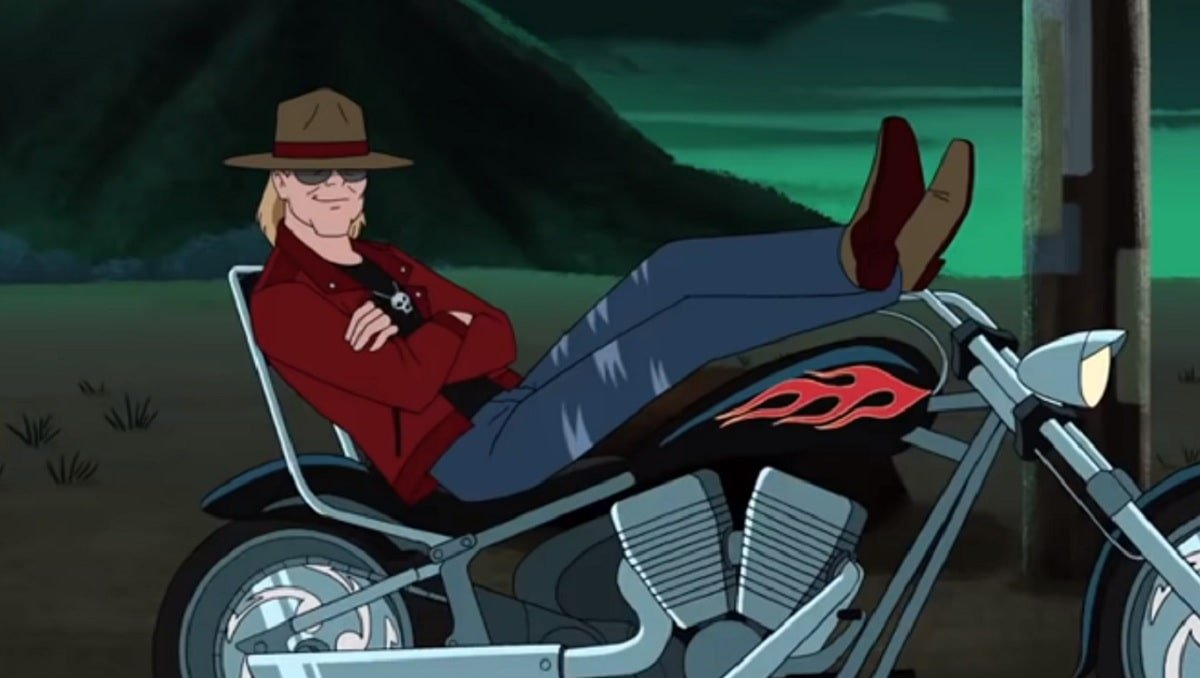 Axl Rose en Scooby-Doo and Guess Who?