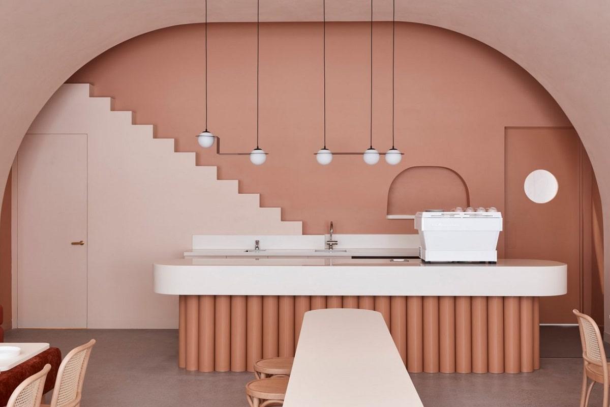 El Gran Hotel Budapest de Wes Anderson inspira a un café en Australia