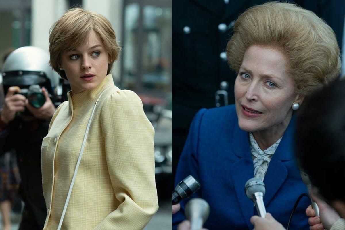The Crown: La reacción de Emma Corrin y Gillian Anderson a los comentarios del príncipe Harry