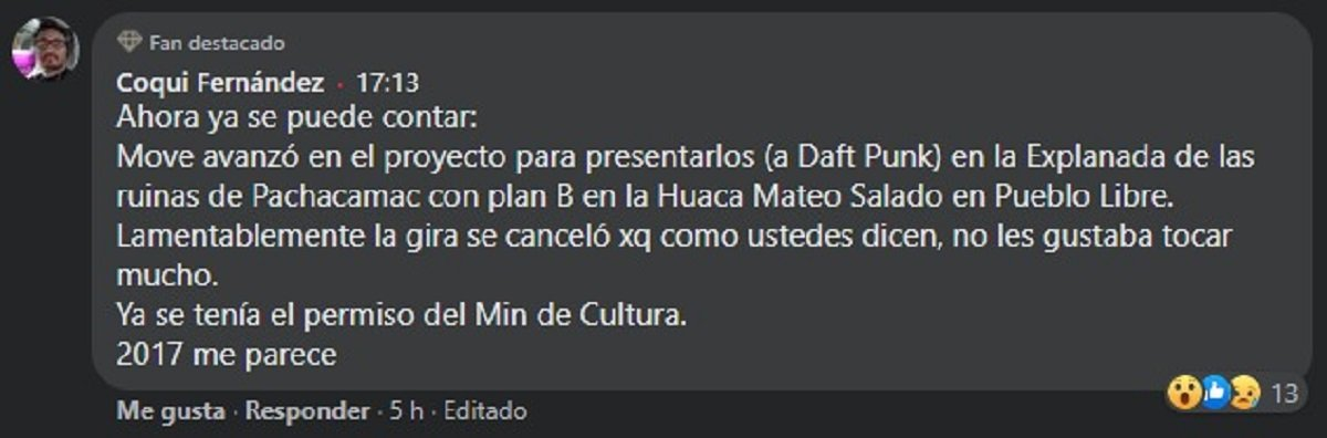 Coqui Fernández vía Facebook