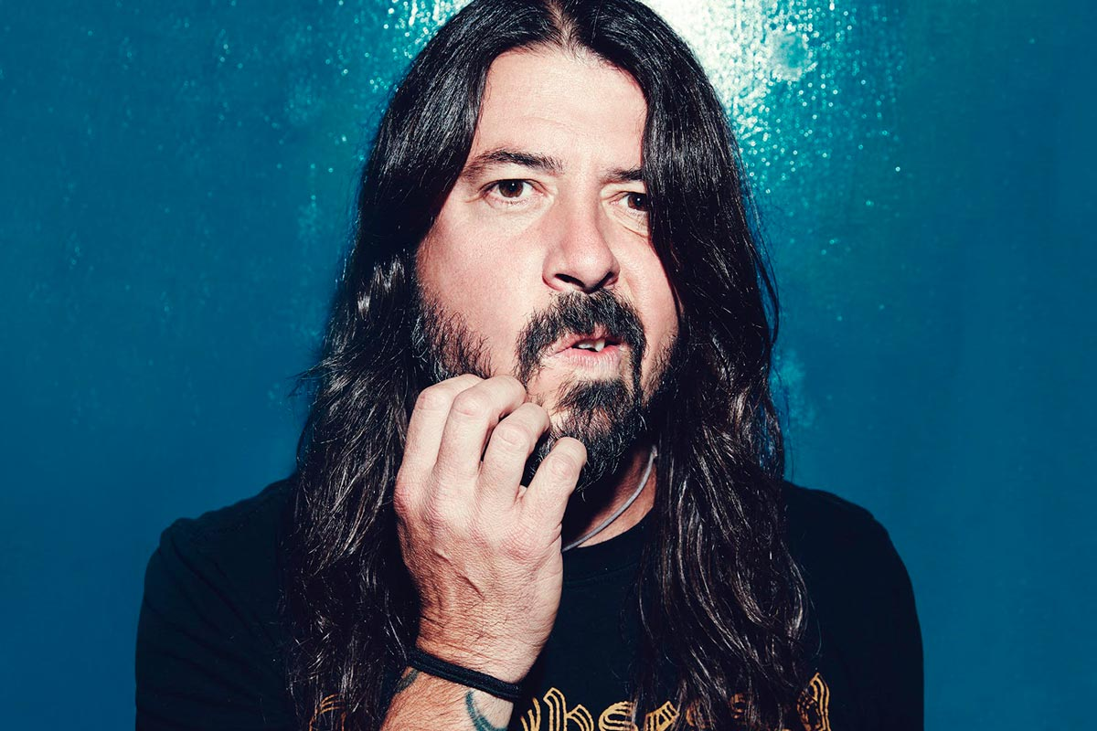 Dave Grohl de Foo Figthers